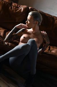 Becky Holt Teasing On The Sofa