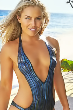 Lindsey Vonn - erotic bikini