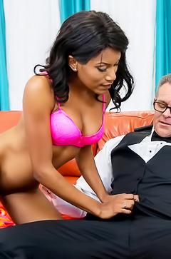 Indigo Vanity black porn pleasure