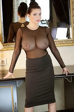 Ewa Sonnet see-through dress