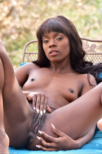 Tasty Black Girl Stripping In Public Place