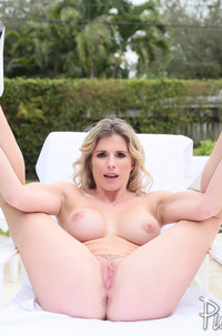 Mature Cory Chase Gets Sperm In Ass Hole