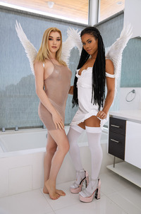 Bi Angels Anny Aurora And Kira Noir