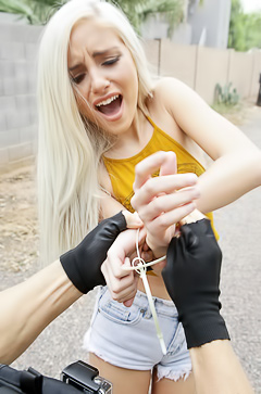 Naomi Woods Is Tied And Fucked