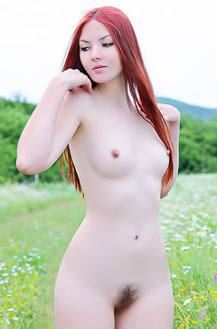 Amazing beautiful redhead