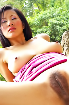 Hairy asian Nancy Ho