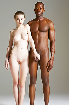 Teen Emily Bloom is posing with big black dick