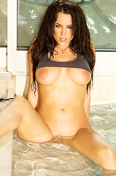 Crissy Henderson is getting so wet