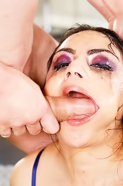 Extreme Hardcore Throat Fucking Rose Darling