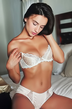 Gloria Sol In Hot Lingerie