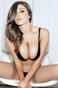 Lucy Pinder's Lingerie Collection