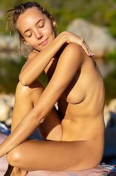 Katya Clover A Nudist And Love Being In Nature