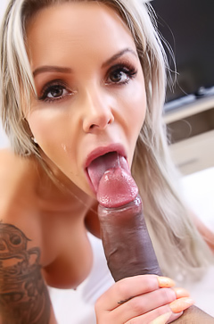 Nina Elle Suck Dick And Loves It Every Second