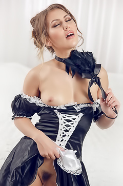 Favorite sexy French Maid Paige Owens picture gallery