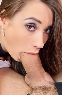 Liya Silver Wants Monster Cock For A Blowjob