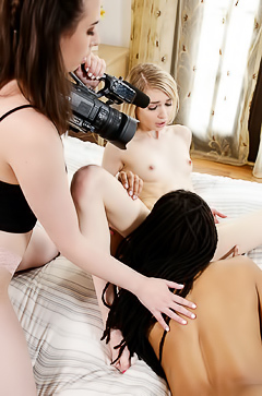 Hot And Wet Three Girls Pleasantly Surprised
