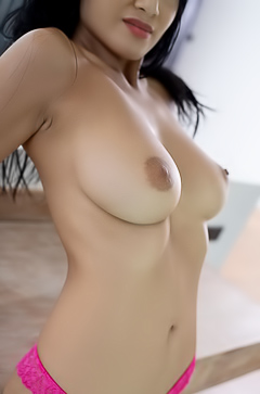 Wet And Hairy Asian KAHLISA