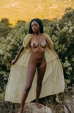 Ebony Babe Sarissle Making Her Playboy Muse Debut
