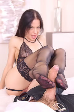 Allatra Hot Kinky Hotel Room Foot Fucking