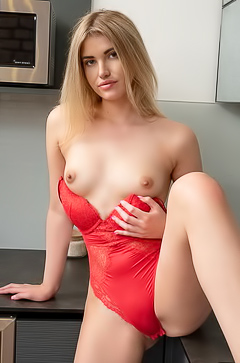Kata Fire Teasing In Kitchen