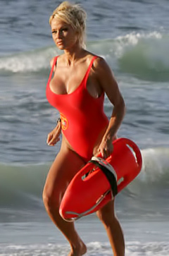 Pamela Anderson Can't Stay Away From The Beach