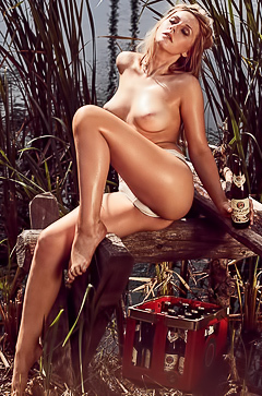 Patrizia Dinkel in Playboy Germany