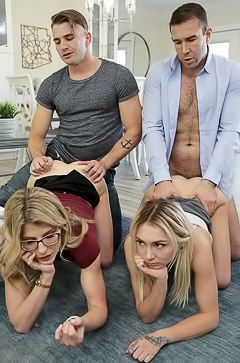 Chloe Temple And Cory Chase Agree To Fuck In Foursome Sex