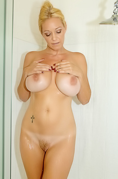 Charlee Chase's Wet Tit Play
